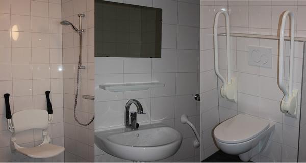 Badkamer modern appartement Percura Zorg Zevenaar
